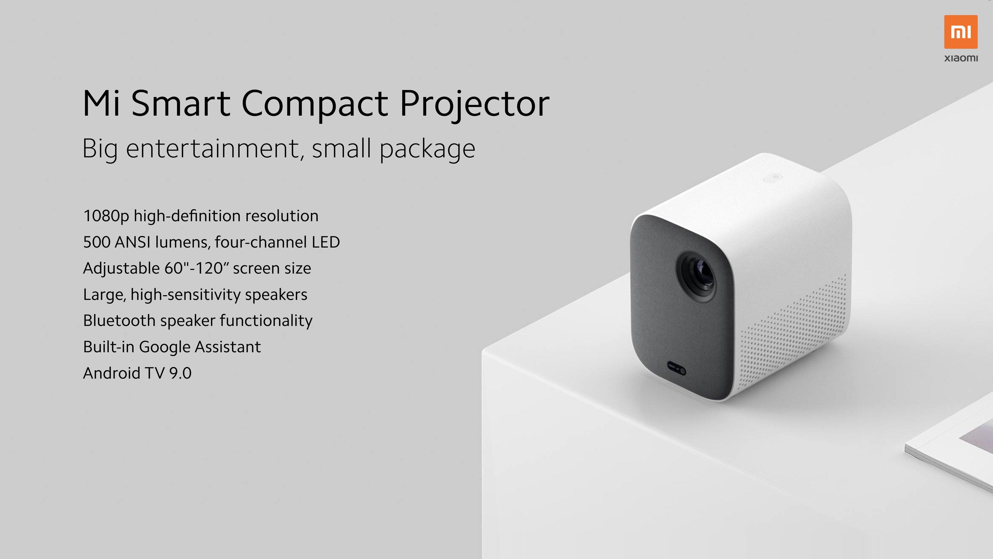 Proyector Mi Smart Compact