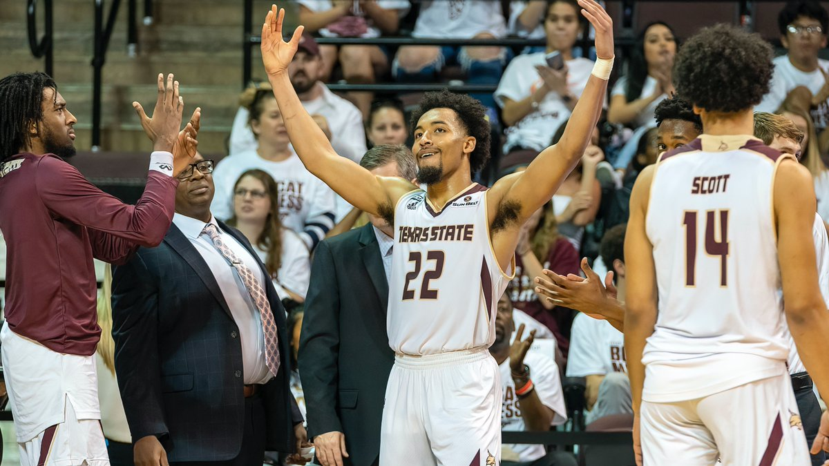 Pearson honored to NABC Division I All-District First Team #EatEmUp😼 📰: bit.ly/2Uu5hSN