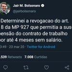 Image for the Tweet beginning: O próprio Presidente @jairbolsonaro acaba
