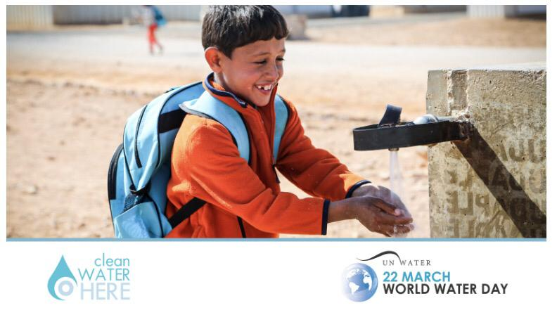 On #WorldWaterDay, the #CleanWaterHere2020 campaign wants to help stop the spread of COVID-19 & keep people safe. Please stay at home when possible & practice good personal hygiene eg. washing your hands. Spread hope, not disease! @UN_Water @CleanWaterHere https://t.co/RgsIMzSw0T https://t.co/ZlLDcPMxjq