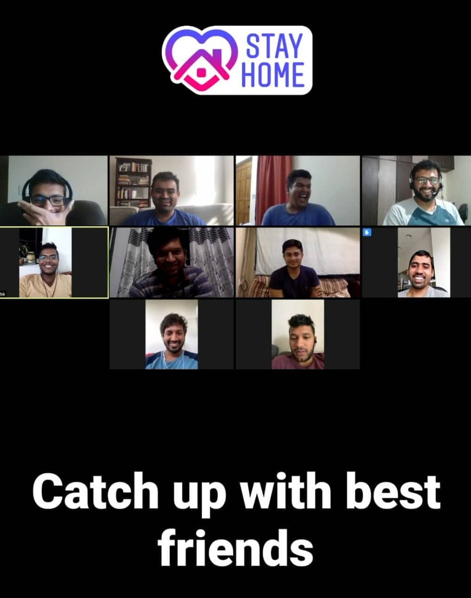 Practice hygiene , follow guidelines and witness #CelebratingLife    Thanks to the technology & emotions that enables building strong human bonds & at the same time helps practising #SocialDistancing... #USA #India #BestFriends #Global #Kannadigaru pic.twitter.com/IKwAmKETNx