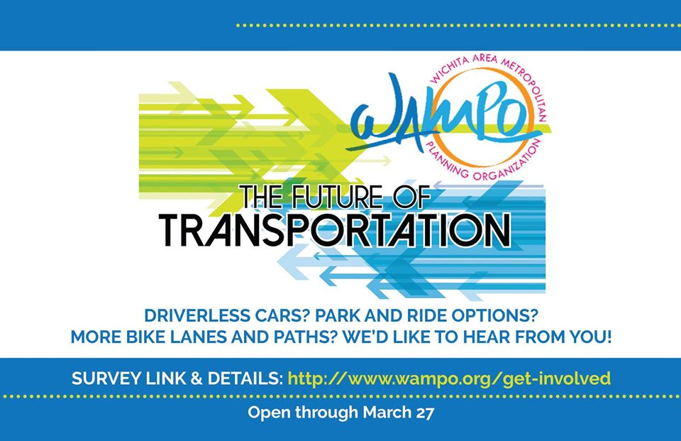 Driverless cars? Bike lanes? Ride shares? You've got opinions on transportation and we want to know them.  Please take a moment and share your thoughts: http://www.wampo.org/get-involved   #futureoftransportation pic.twitter.com/XJxwLjeOwu