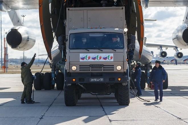 МО РФ об отправке помощи Италии