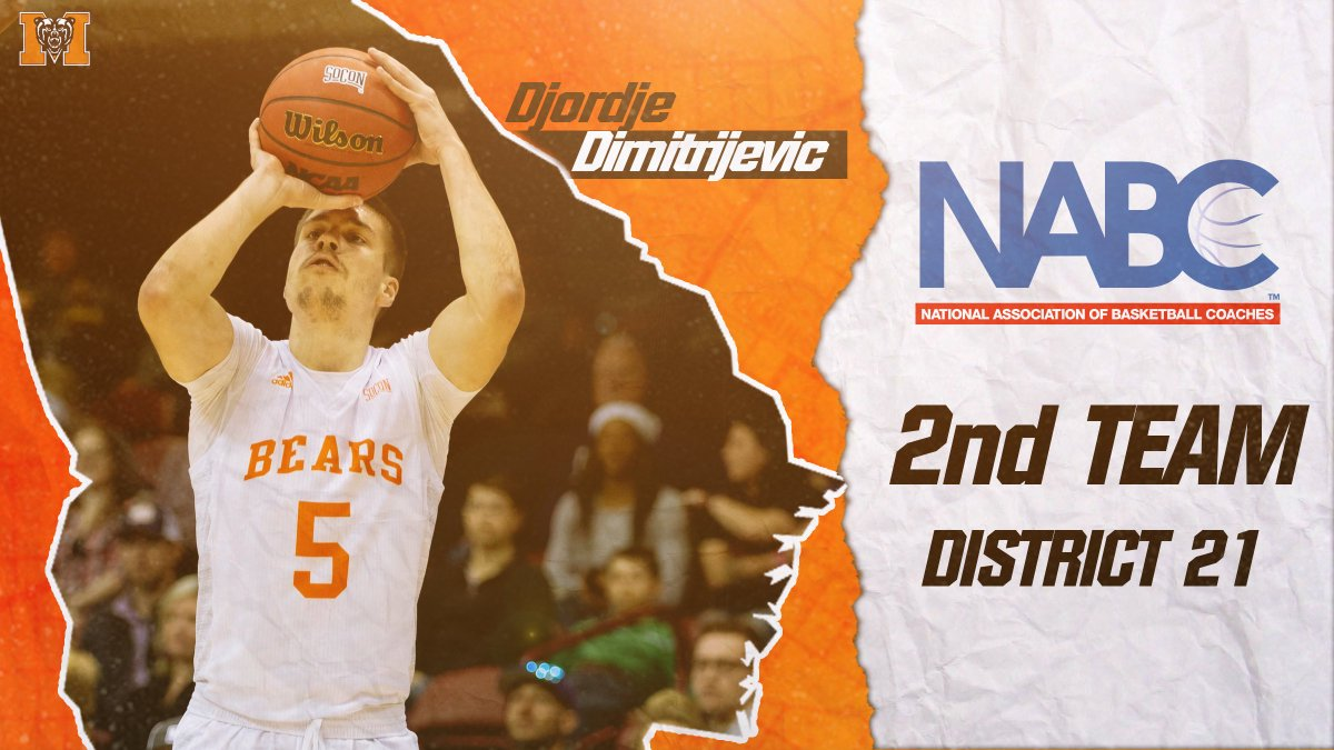 He's a @SoConSports All-Conference selection, a @CoSIDAAcadAA All-American and now he has received recognition from the @NABC1927‼ Way to go @dj_dimitrijevic.   #RoarTogether https://t.co/3Nudkgo5pC