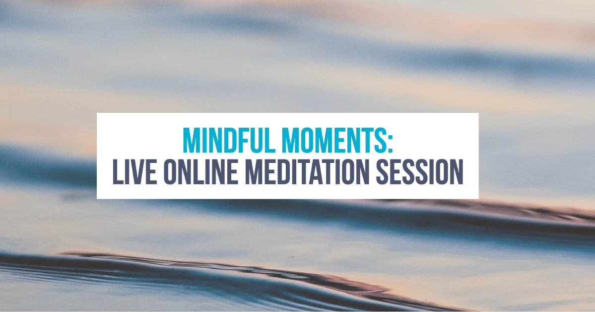 Tonight! Let's de-stress and unwind - together! Tune in at 7:00 p.m. for a live, #UofT online meditation session.  https://facebook.com/events/578590669400482/ …pic.twitter.com/WWuRzpmr6s