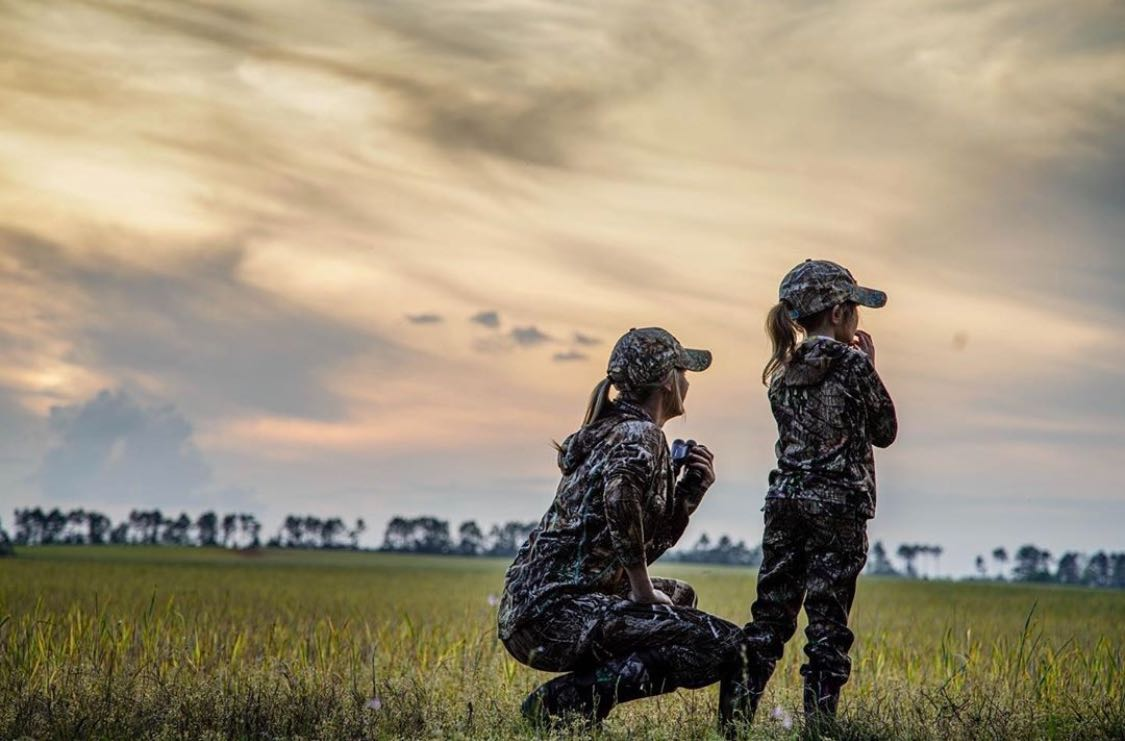 Who do you share the hunt with?? Kimberly Rodgers DSG Gear