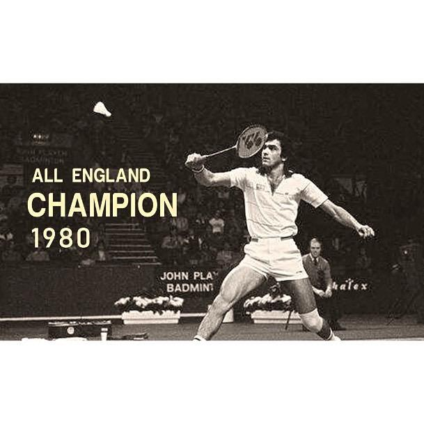 40 years ago on this day, #PrakashPadukone changed the fate of Badminton forever 🏸🏆 He won the All England Championship in London's Wembley Arena, creating history for Indian sports 🇮🇳 An unprecedented, landmark victory that shines everlastingly in the annals of time 🌟