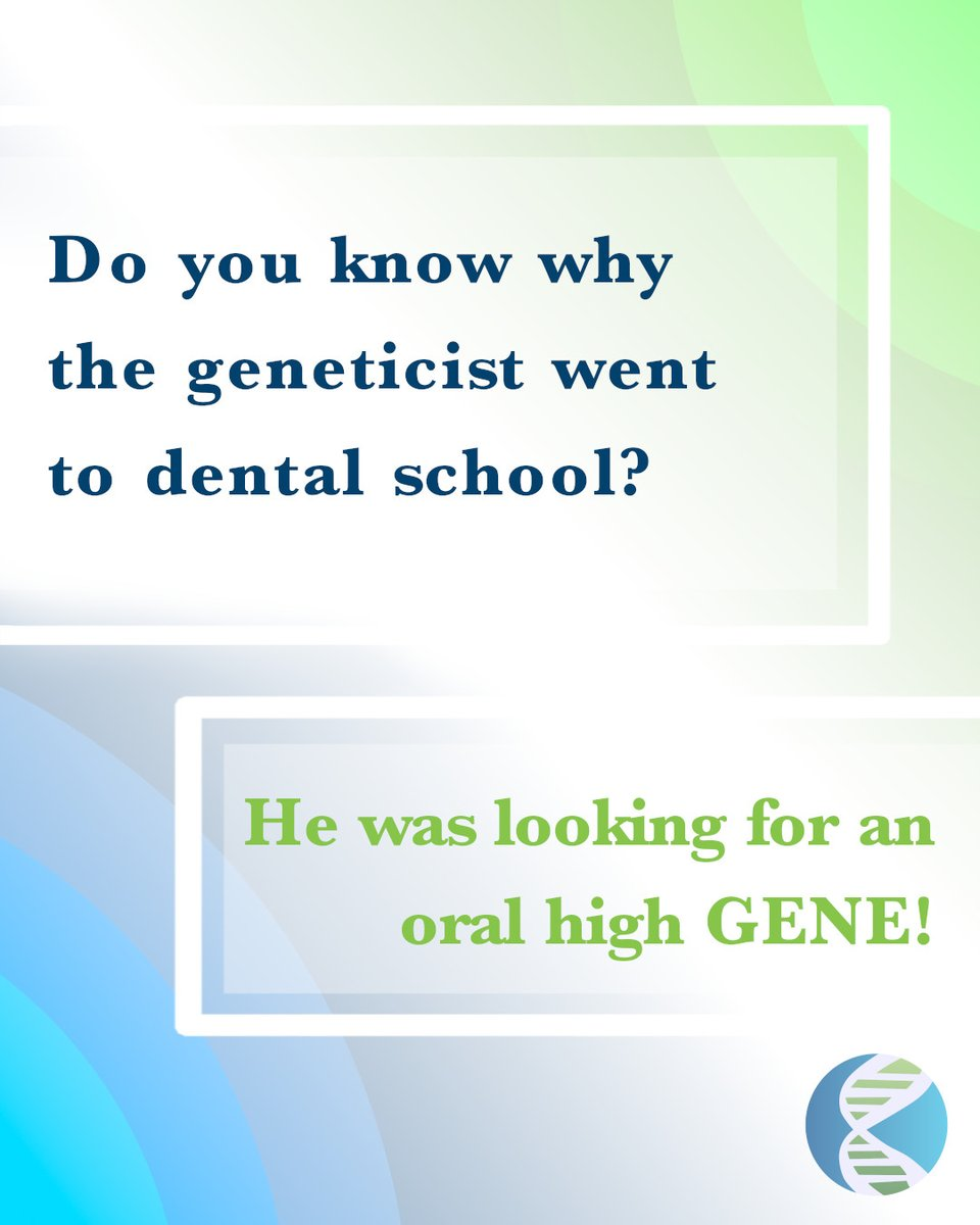 Around here we take Mondays seriously.  Got any science jokes you wanna share? #DadJokeMondays #NGS #ScienceJokes #SeqLife #SeqOn #SeqWINcing #genetics #genomics #GenomicsImprovingLife #sequencing #DadJokes #NGS #ScienceJokes #SeqLife #ScienceMemes #DadJokeMondayspic.twitter.com/HMUKN14LHM