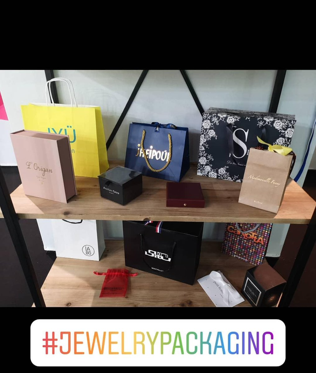 Nous serons présents à la prochaine session du salon @bijorhca en Septembre 2020 où nous aurons le plaisir de vous présenter nos nouveautés 😉 💍💎 #jewelrypackaging #jewellery #packagingdesign #pakemballages