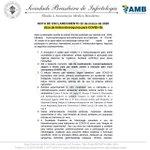 Image for the Tweet beginning: Vejam a nota da Sociedade