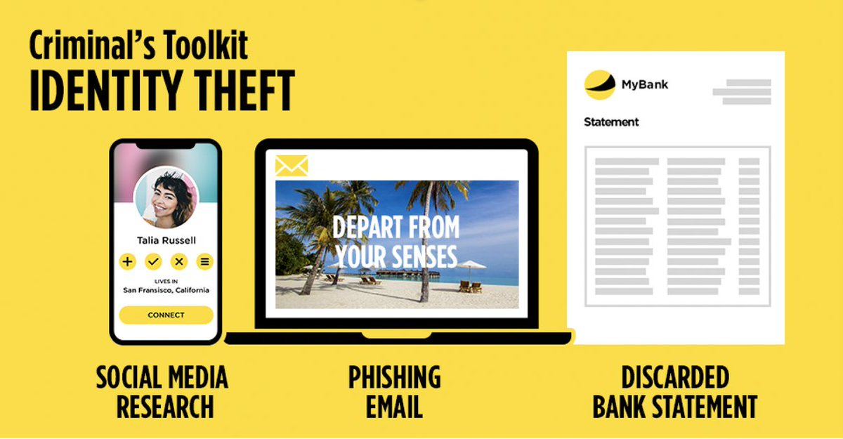 Bank Of Ireland Uk On Twitter Criminals Spend Hours Collecting Your Personal Information Until They Have Enough To Steal Your Identity Takefive And Be Careful What Information You Share Online If You