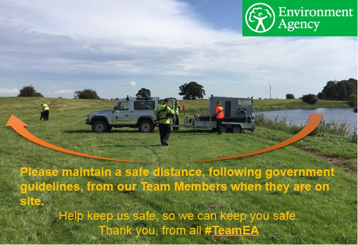 #TeamEA continue to work hard to keep communities safe. Please help to keep us safe, by adhering to government guidelines on social distancing. We're only carrying out the most essential work, please keep 2m away as a minimum. Thank you #cat1responder #coronavirusuk #keepussafe