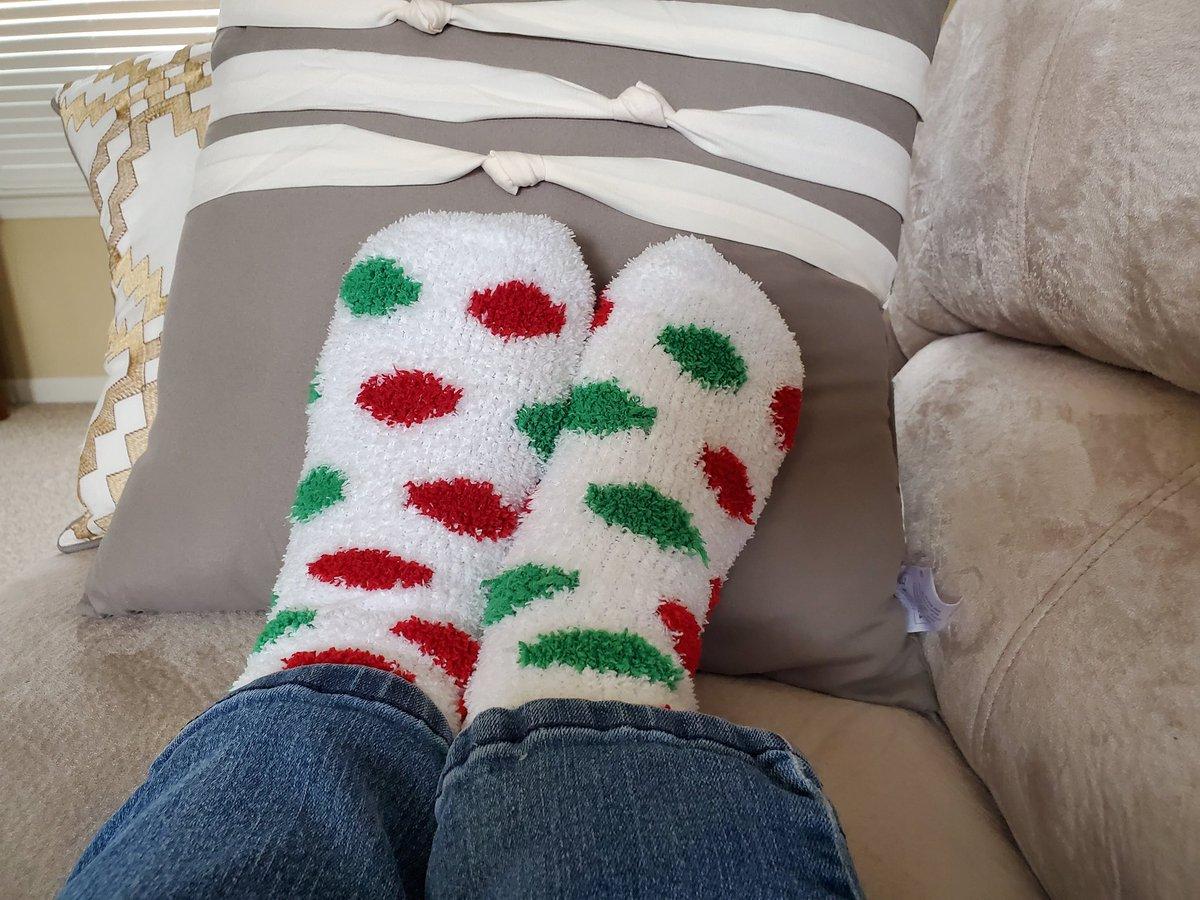 Mrs. Grimsley is keeping her toes warm with crazy socks too! #JFKWolverines #BuildingTheBestSPS