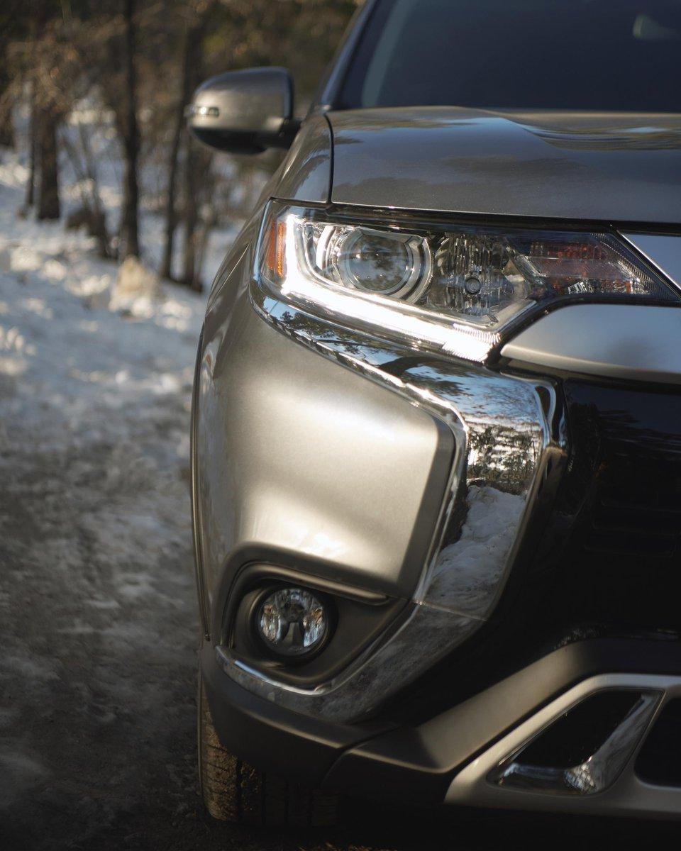 Eye contact. #MitsubishiOutlander