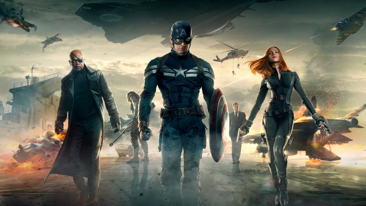WELP. It's a new day. Discussion of the best #MCU movies.  Here's my top three: Captain America:The #WinterSoldier The #Avengers #CaptainAmerica:Civil Warpic.twitter.com/2IwLtfPnul