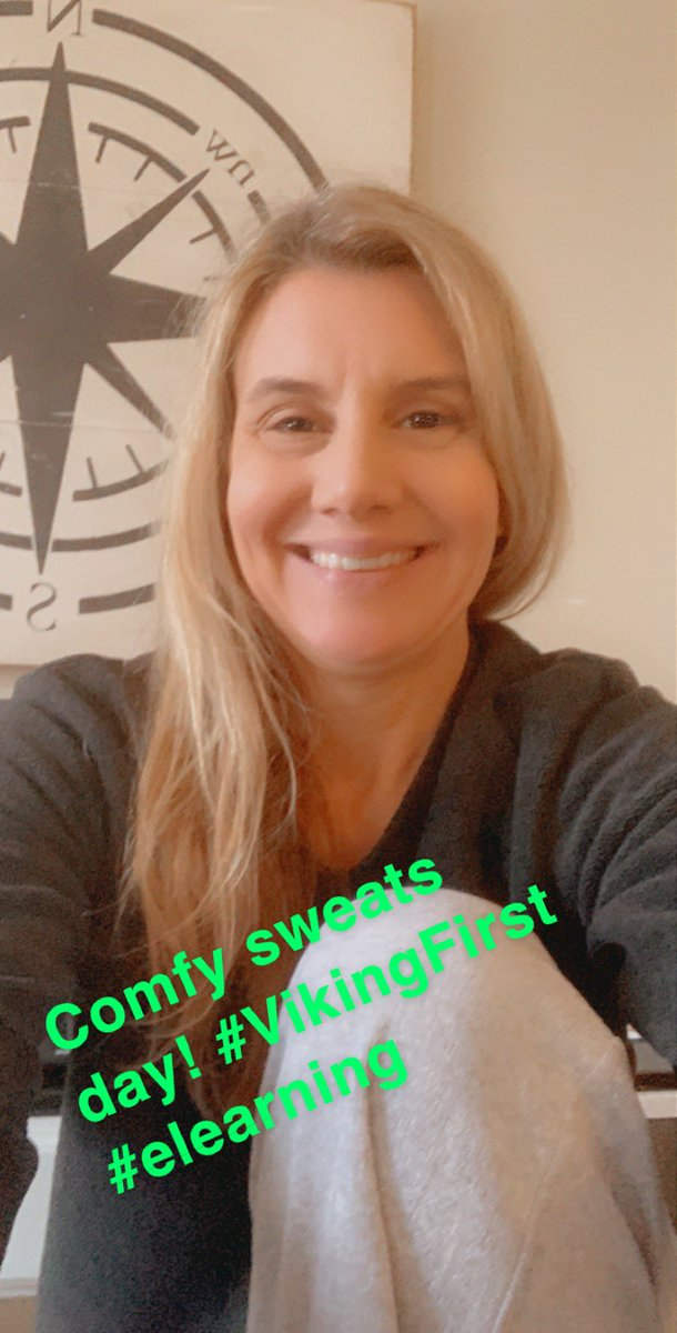@SV_Vikings it's #comfysweats day at The Valley! Show us your awesome #elearning outfit! #VirtualSpiritWeek @MichelleSpigner @JTemoney @MrsDilleySVHS @MrsZ_R2Bio @bartellboykin @SVHStuco https://t.co/CEJxD265Qz
