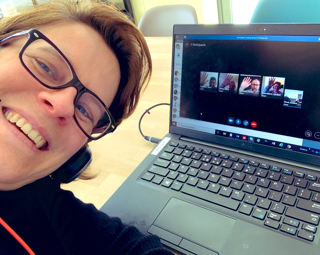 Annabel P. (Beerse, Belgium) and her team successfully pulled off their first #virtual meeting! We are confident that our #COVID19 procedures are robust and that our employees, facilities, and animals are sound and secure. Learn more: https://bit.ly/2UlsxlK  #LIFEatCRL