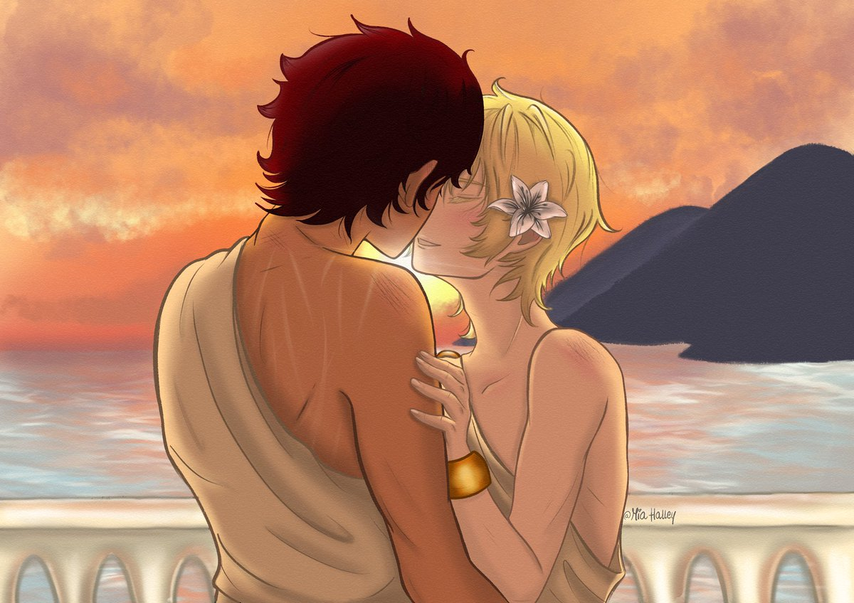 """He loved the way that Laurent kissed, as if Damen was the only person that he had ever kissed, or would ever want to.""    #CaptivePrince #laurent #damen #laurentofvere #damenofakielos #lamen #princesgambit #thesummerpalace #kingsrising @cspacat #captiveprincefanartpic.twitter.com/PNJw6WYkAe"