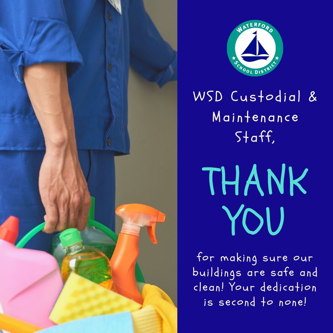 We cannot thank you enough for your efforts! We appreciate all that you do today and every day!