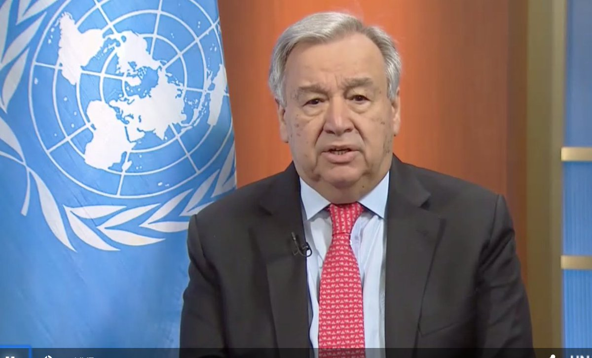 #COVID19 threatens already dire situations for people & health workers in conflict zones. @UN Secretary-General @antonioguterres calls for an immediate global ceasefire to warring parties. Watch @UN Secretary-General @antonioguterres' global appeal now: