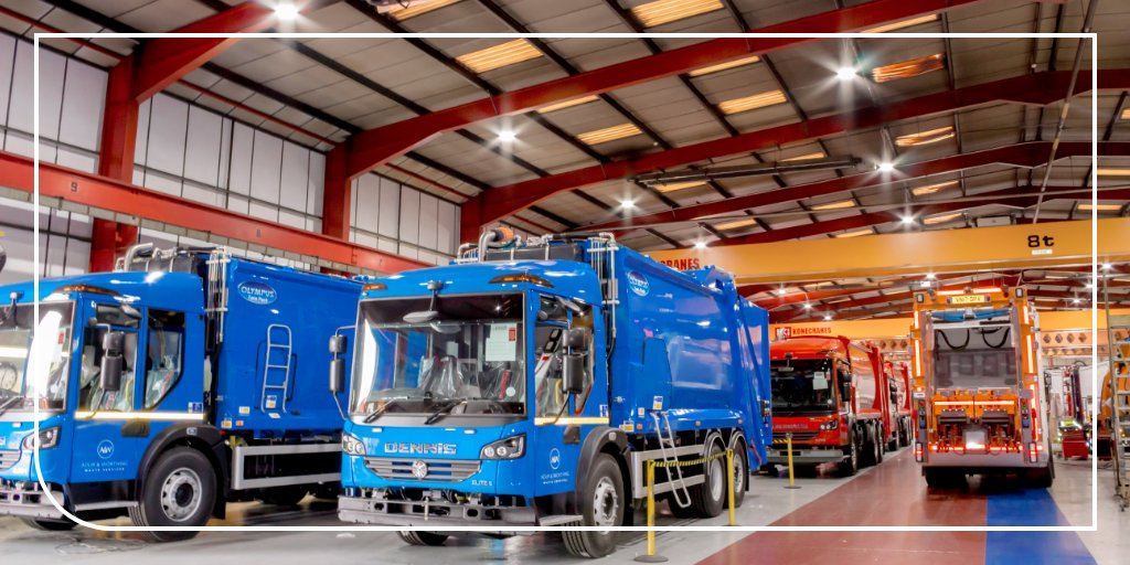 Tasked with lowering energy consumption, JCC carried out a complete LED retrofit in the main manufacturing plant, office and reception of Dennis Eagle, the refuse collection vehicle manufacturer.  Read the case study: https://t.co/pWZtPAdSPW   #electrician #sparky https://t.co/6yPXU50OaD