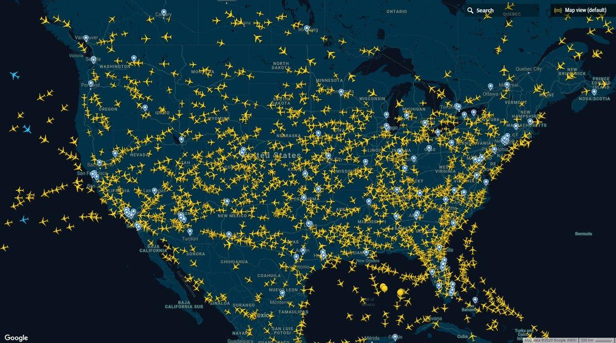Axe On Twitter Mapa De Vuelos En Tiempo Real En Usa En Un Cumple Los Yankies