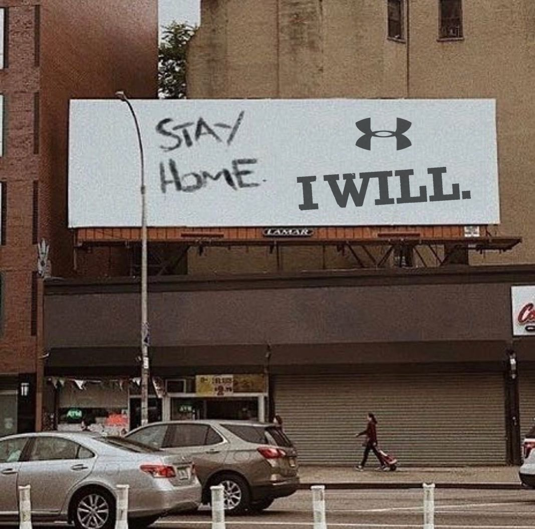 #StayHome #StopTheSpread #IWILL
