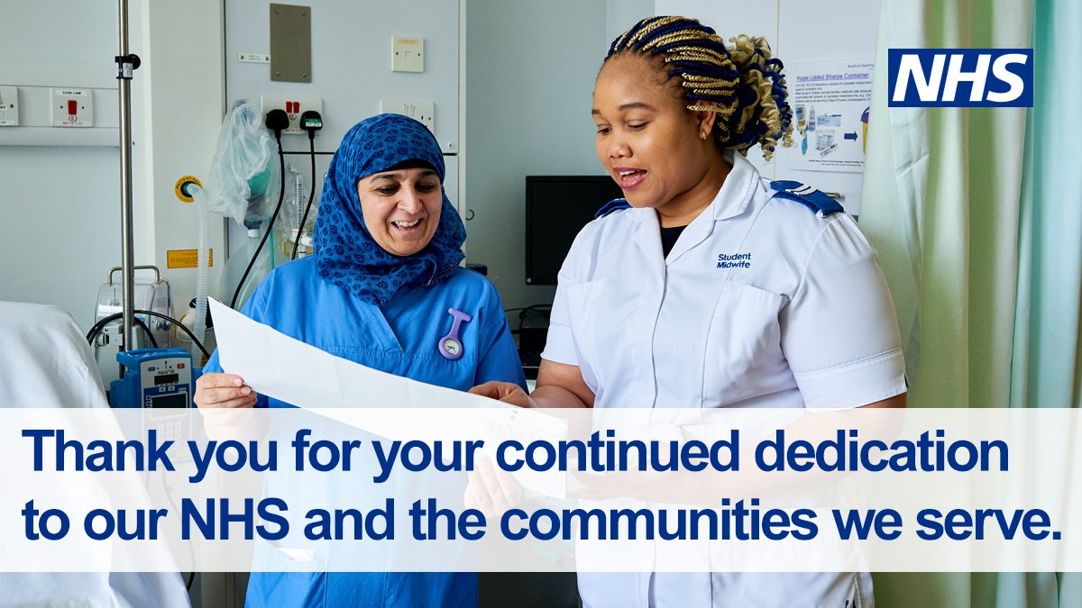 To the #NHS staff on the frontline treating #coronavirus, the carers who continue to show up and protect our vunerable loved ones, and all #OurNHSPeople behind the scenes making sure people in their community have access to the latest information — we thank you! #ThankYouNHS 💙