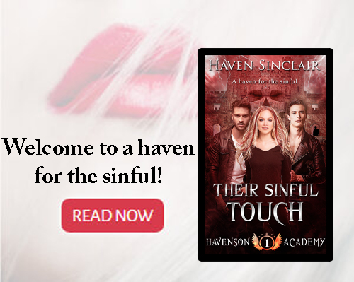 Get ready to step into Havenson Academy - Where being good is bad and being bad is oh, so good!  Their Sinful Touch is available now!!  http://amzn.to/2XjcSoe  #PNR #ParanormalRomance #RomanceBooks pic.twitter.com/IWcrGpJco0