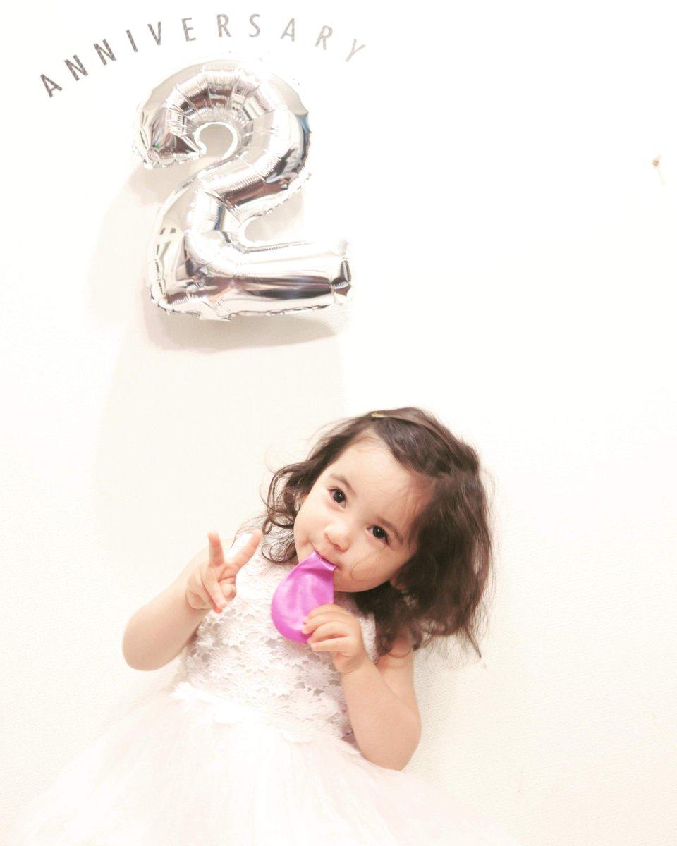 うちの天使の近況です。 天使が先日2歳になりましたよひゃっほう。 #myangel #BirthdayPhotoShoot #2yearsold #babygirlpic.twitter.com/6BTDHtvfLu