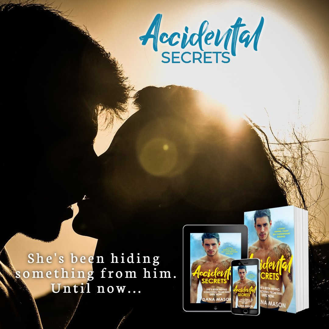 """She's hiding something from him... until now. Accidental Secrets, available now! """"Love, love, loved it!!!... My absolute favorite!... This one was awesome!!! Don't miss out on this book and series!!"""" Ana's Attic, 5 stars https://buff.ly/36iB6CC #RomanceBooks #amreading #IARTGpic.twitter.com/vPVC4gOI6M"""