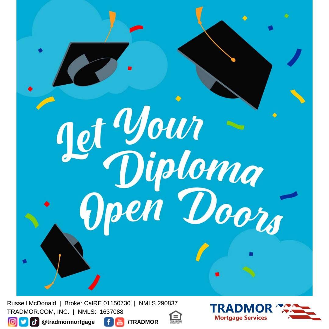 You've worked really hard to graduate college and get your diploma. Think you need two years on your new job to buy a house? Think again. Your university studies count towards your two year work experience if you get a job in your field of study. Msg for more info! #buyitnow pic.twitter.com/LkAKcMM4fL