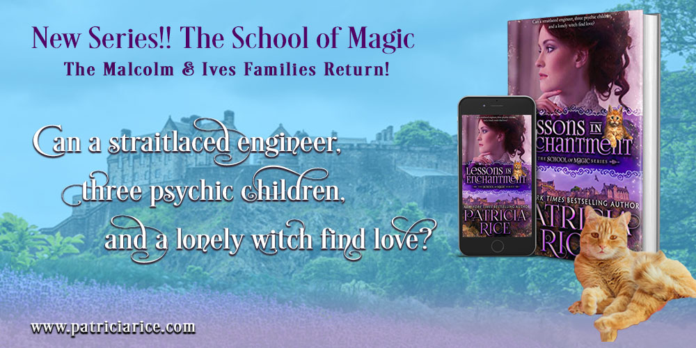 Will love come to a straitlaced engineer and a lonely witch? 𝐋𝐄𝐒𝐒𝐎𝐍𝐒 𝐈𝐍 𝐄𝐍𝐂𝐇𝐀𝐍𝐓𝐌𝐄𝐍𝐓 𝐒𝐜𝐡𝐨𝐨𝐥 𝐨𝐟 𝐌𝐚𝐠𝐢𝐜 #1 @Patricia_Rice #𝐍𝐄𝐖𝐑𝐄𝐋𝐄𝐀𝐒𝐄 http://books2read.com/som1 @Kobo @kobobooks1 #Kobo #romancebooks #historicalromance #paranormalromancepic.twitter.com/tw1tJng6WM