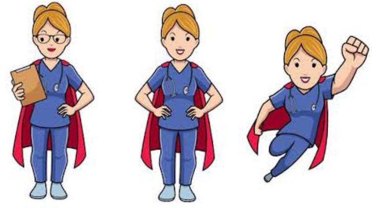 Nurses across the world should wear Cape instead of Cap.  #SuperHeroes   #WorldHealthDay #IndiaFightsCoronapic.twitter.com/9m66V08Bn6