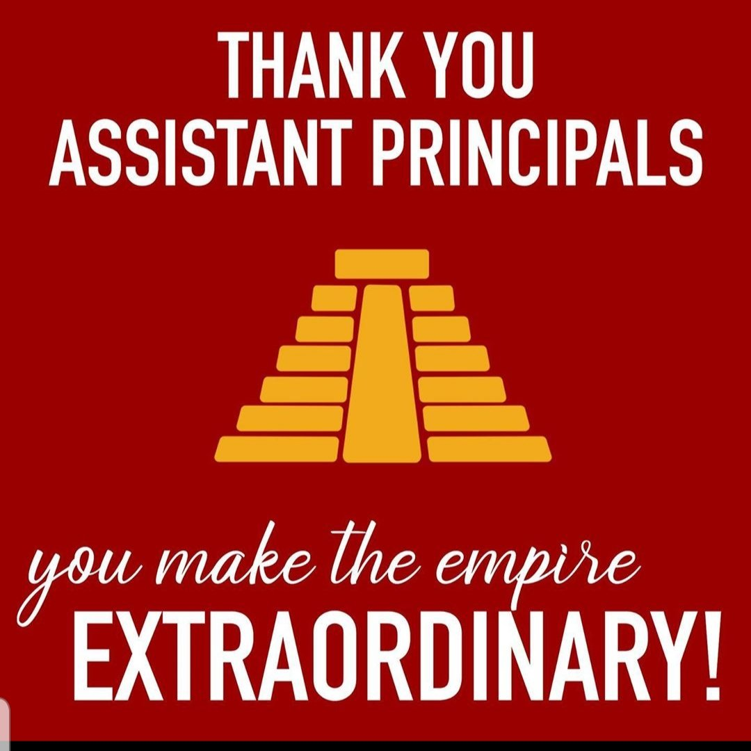Thank you for all you do!! We miss you #AztecEmpire #TeamSISD #Aztecs4love