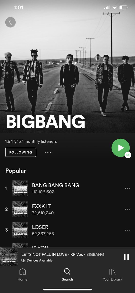 Hello VIPs! Let us aim for 2M Monthly listeners for April ;) Fighting!!! #BIGBANG #VIP pic.twitter.com/21VV2zYzCB
