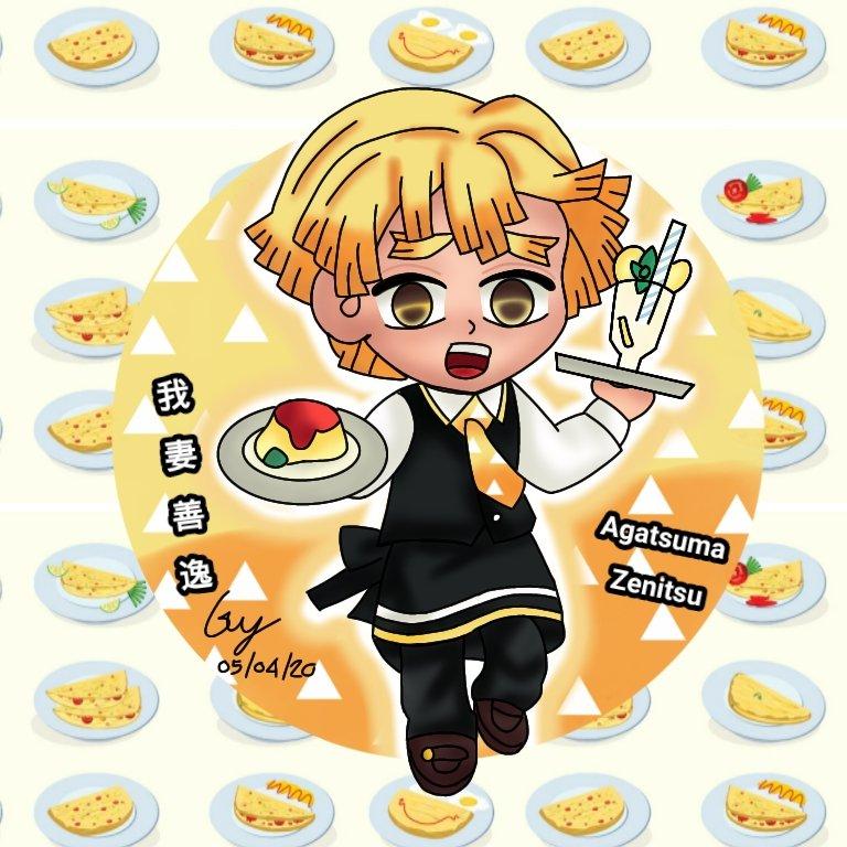 Zenitsu Waitress In The Restaurant Chibi Agatsuma Zenitsu Chibi (我妻 善逸 ちび) From anime : Kimetsu No Yaiba (鬼滅の刃) ดาบพิฆาตอสูร #鬼滅の刃 #我妻善逸 #AgatsumaZenitsu #kimetsunoyaiba #anime #chibi #chibiart #ちび #ดาบพิฆาตอสูร #アニメ #fanart #demonslayer #kimetsucafepic.twitter.com/DXepiYwShF