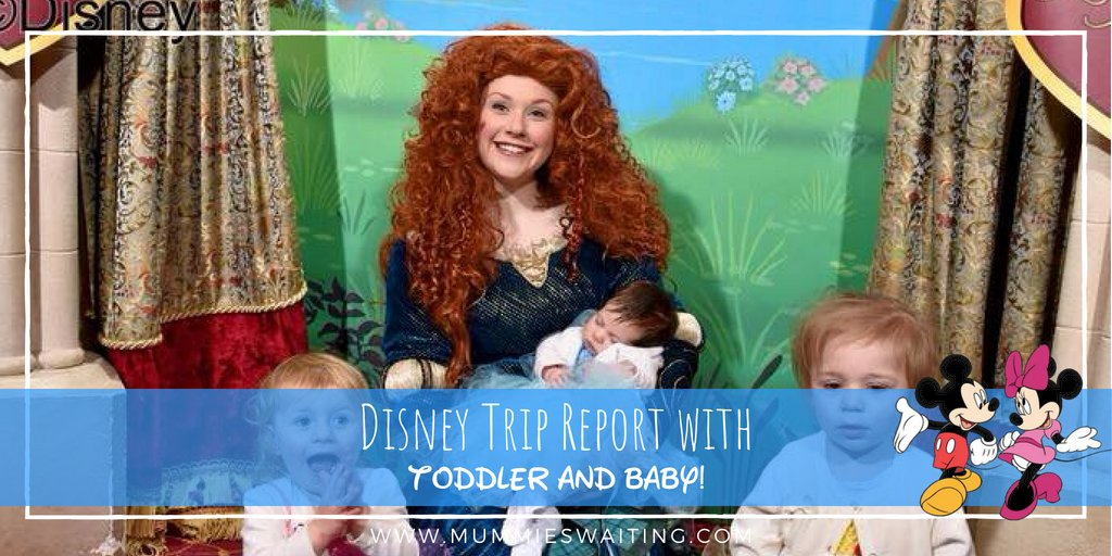 Heading to Disneyland Paris with a baby and a toddler? Check out our trip report  #disney #baby #disneylandparis
