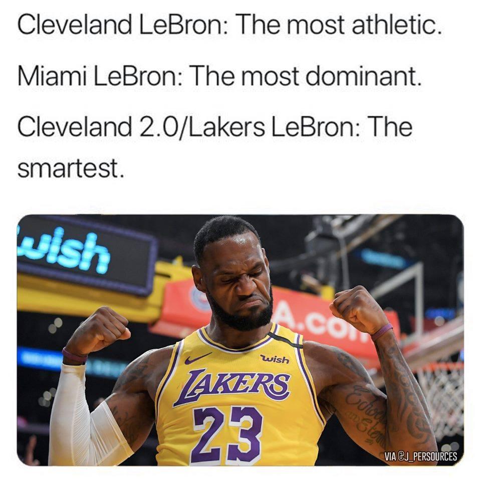LeBron over the years. pic.twitter.com/UBZWRVbfzk