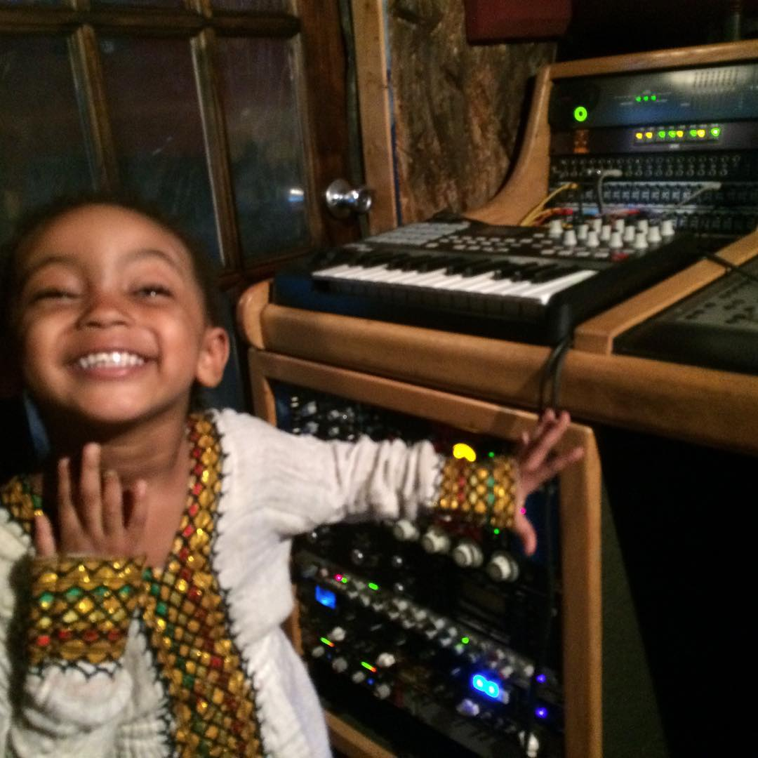 Future super producer/engineer in the making   DM me for your Mixing/Mastering needs  Check out our studio here: http://KrushStudios.org   #mixing #mastering pic.twitter.com/FU99mVNX3J