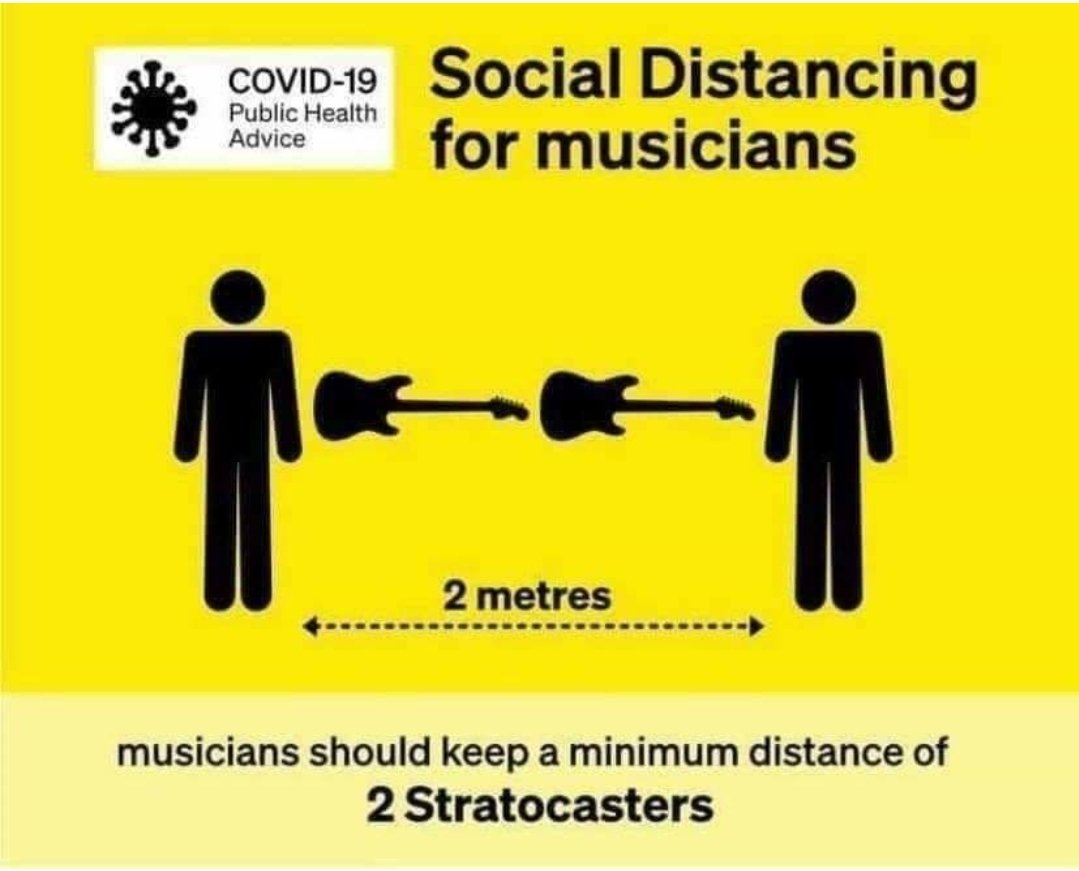Finally, someone has explained it in a way *everyone* can understand!  #coronavirus #SocialDistance #music #musicians #StayAtHomepic.twitter.com/MRBwYxYvf3