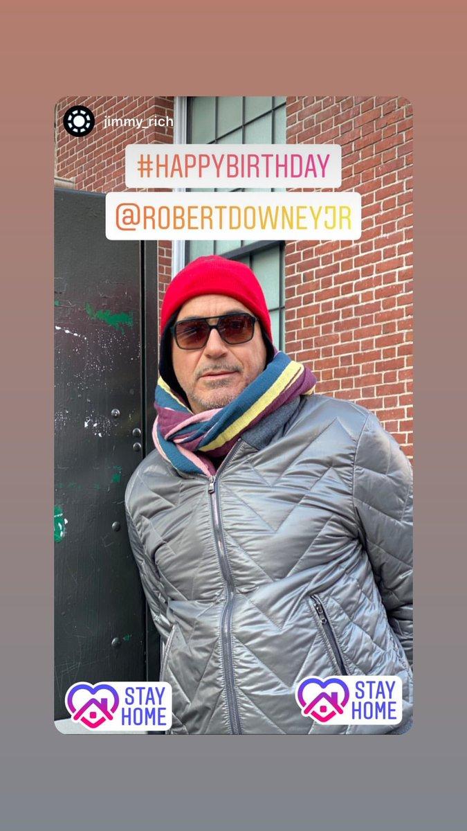 Robert Downey Jr via Instagram Story [04/04/2020]<br>http://pic.twitter.com/QIlxbfBn9f