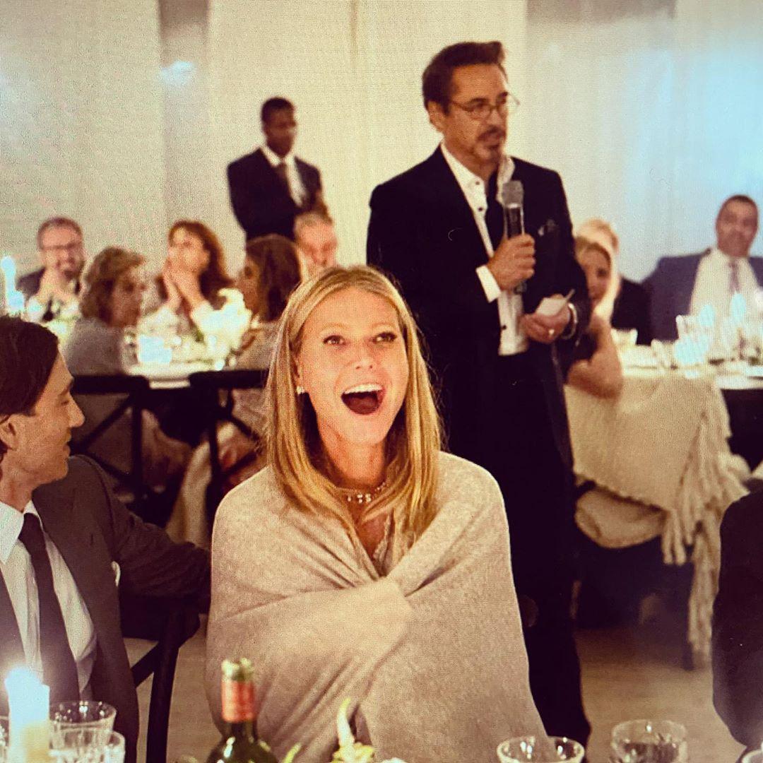 Gwyneth Paltrow via Instagram #HappyBirthdayRobertDowneyJr<br>http://pic.twitter.com/5jW827uUiV