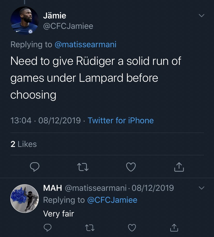 @matissearmani @yerdas_out @11oscarjj While other people were bashing him you were still unsure, and willing to give him a chance. Now you can't blame it on form either. Maybe think more and talk less?