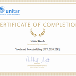 Image for the Tweet beginning: Completed #mooc on #youth &