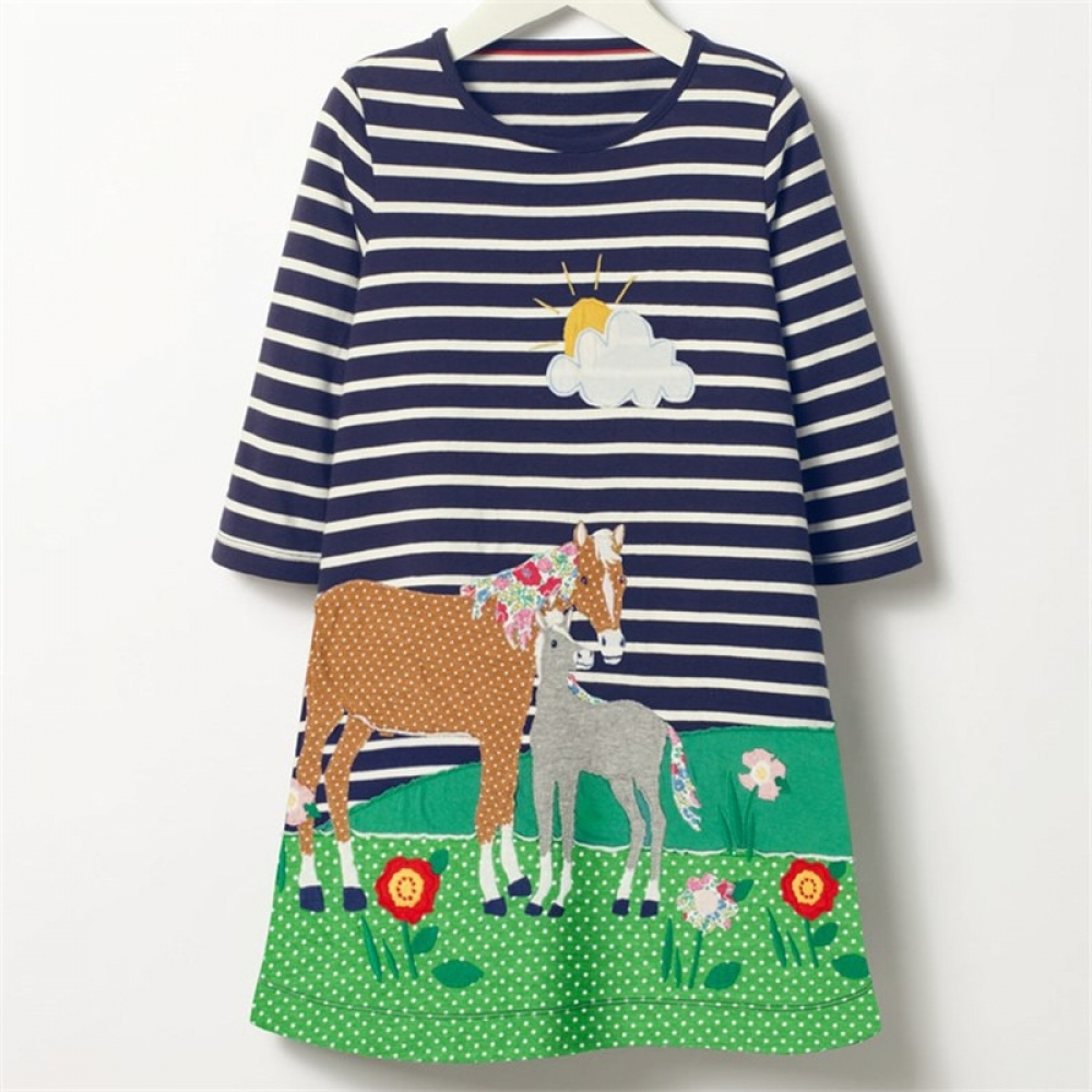 Baby Kids Princess Dress Girls Long Sleeve Dresses Spring Autumn Floral Cartoon Cotton Dress Baby Clothes Stripes Clothes  15.52$ Only Tag a friend who would love this!  FREE Shipping Worldwide  Buy one here---> https://bit.ly/2ysXRHY  #smile #newbornpic.twitter.com/nU01HCvj0z