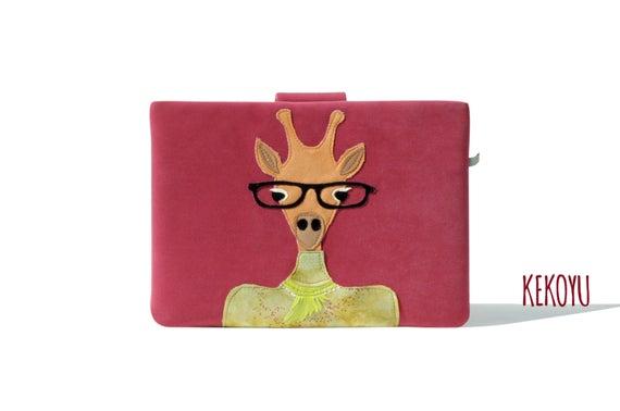MacBook Pro 16 Case, Laptop Bag, Giraffe MacBook  #accessories #case @EtsyMktgTool #notebook #laptopbag