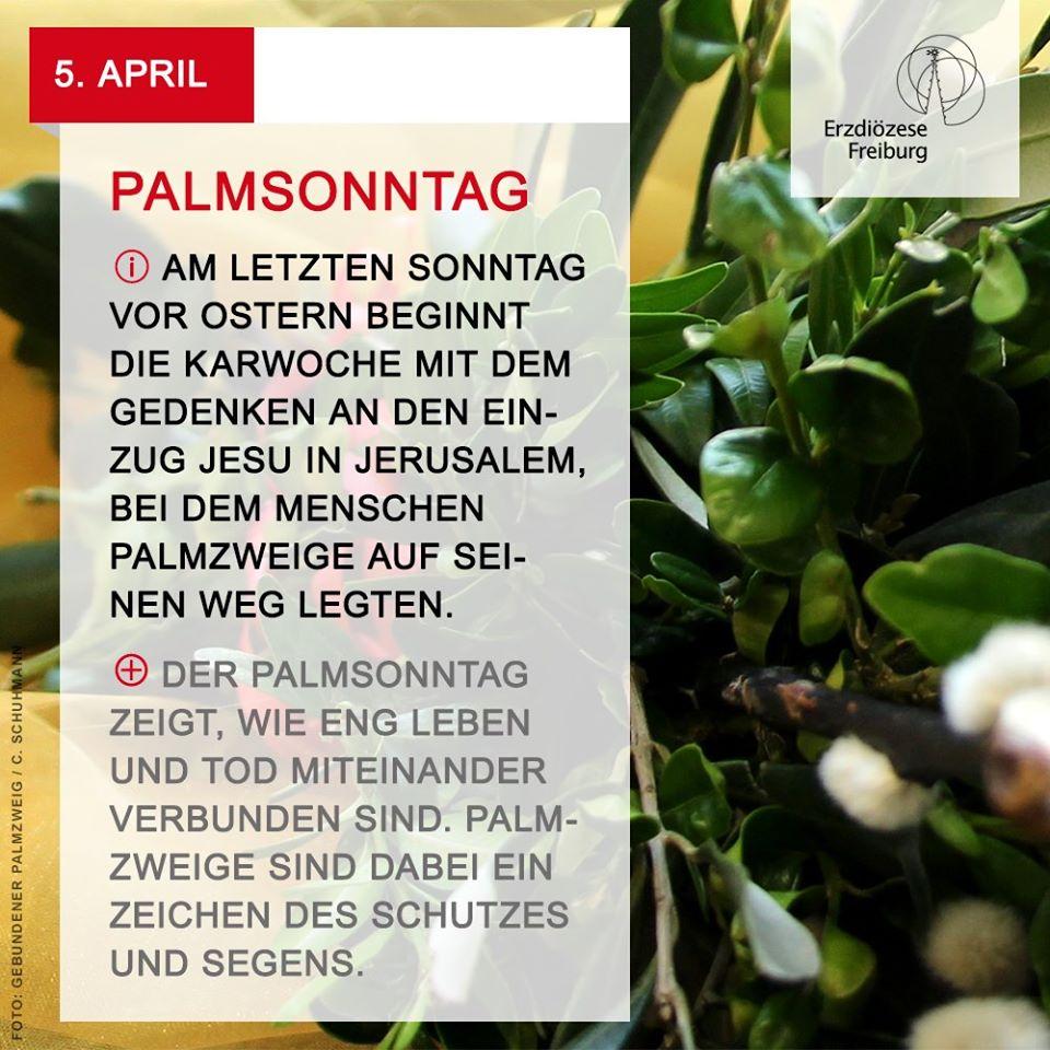 #Palmsonntag