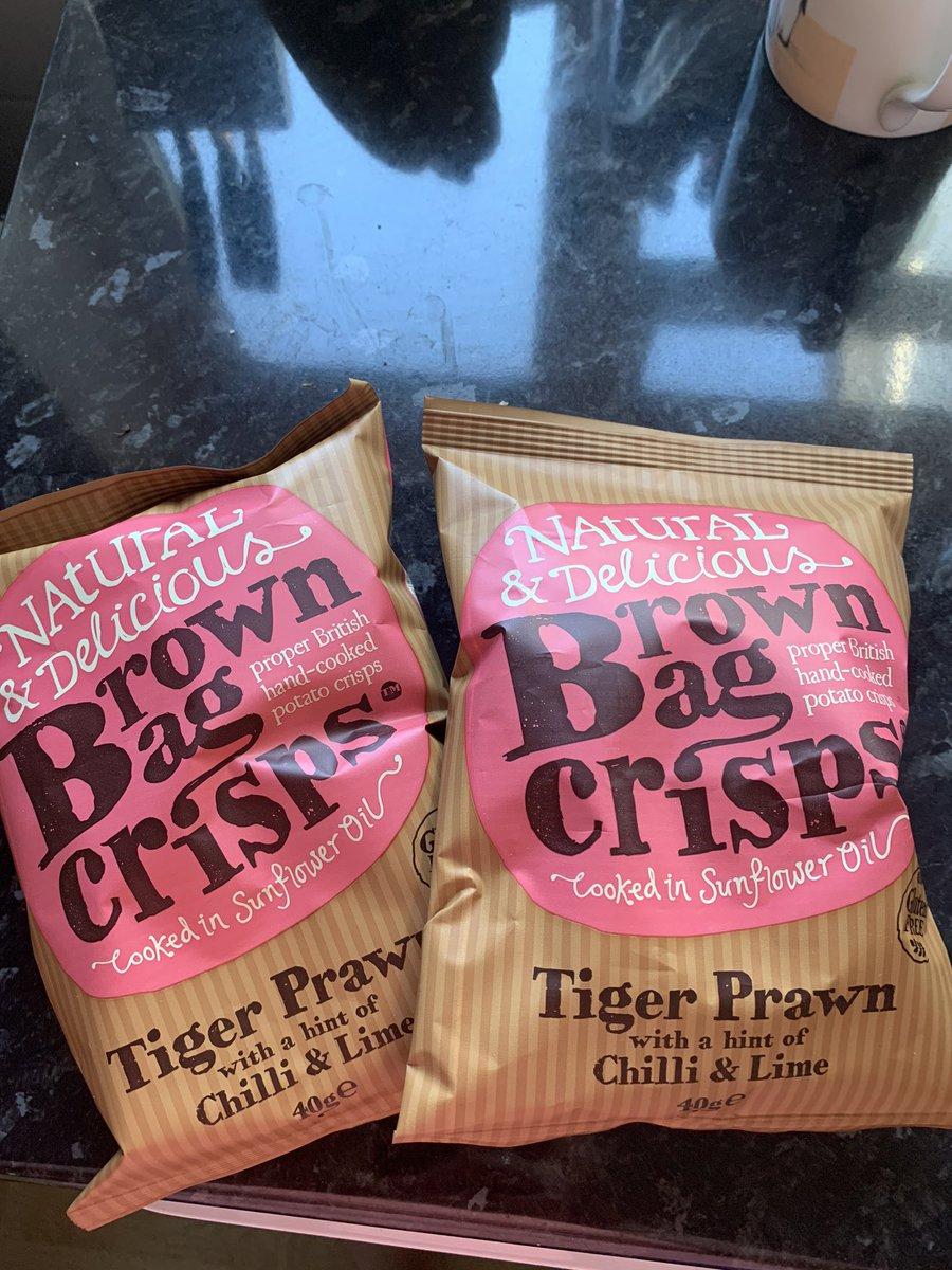 Best lockdown delivery ever! Best crisps ever @brownbagcrisps https://t.co/UZnqJKJ95e
