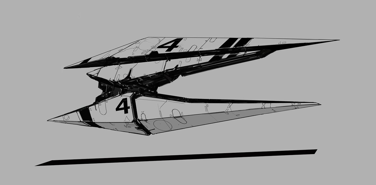 #StayHomeAndDrawSpaceships #spaceship #spacecraft #scifi #sf #sciencefiction #needles replaces the previous version, sorry.pic.twitter.com/v8lACSr7io